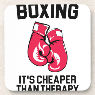 Boxing Therapy Coaster