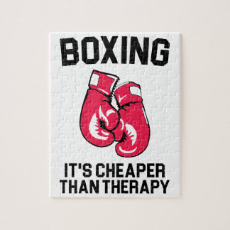 Boxing Therapy Jigsaw Puzzle