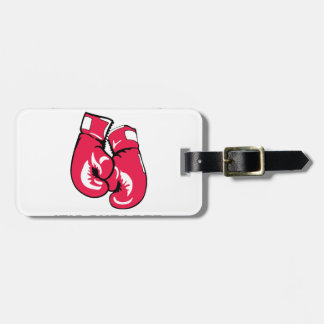Boxing Therapy Luggage Tag