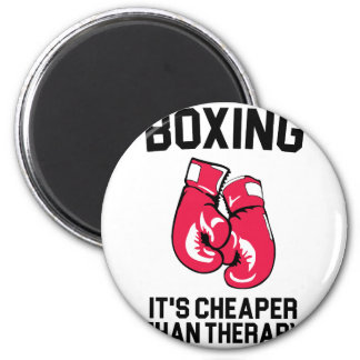 Boxing Therapy Magnet