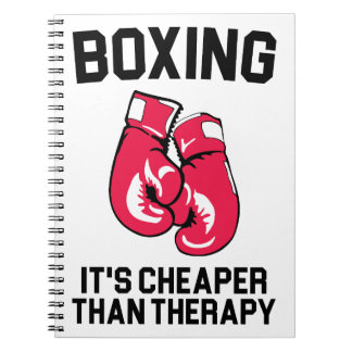 Boxing Therapy Notebook