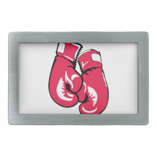 Boxing Therapy Rectangular Belt Buckle