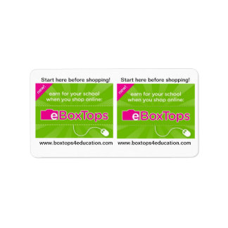 Boxtops for Education Stickers
