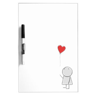 Boy and balloon Dry Erase Board