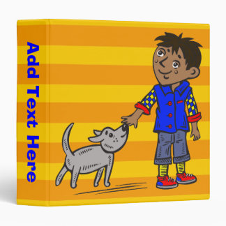Boy And His Dog Binder