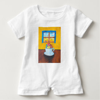 Boy and the Macaroons Baby Romper