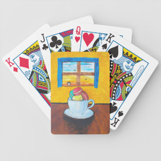 Boy and the Macaroons Bicycle Playing Cards