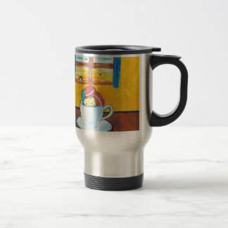 Boy and the Macaroons Travel Mug