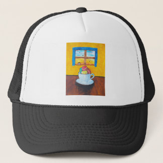 Boy and the Macaroons Trucker Hat