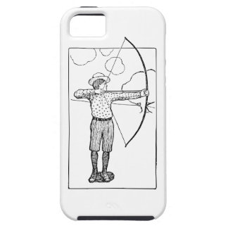 Boy Archer Illustration Case For The iPhone 5