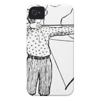 Boy Archer Illustration iPhone 4 Covers