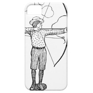 Boy Archer Illustration iPhone 5 Case