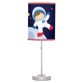 Boy Astronaut Kid's Table Lamp