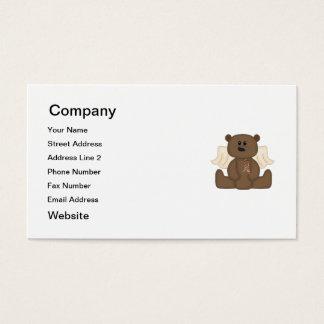 Boy Autism Awareness Bear Business Card