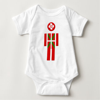 Boy Basque Euskadi flag Baby Bodysuit