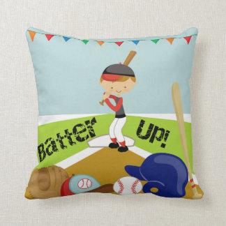 Boy Batter Up Baseball Pillow