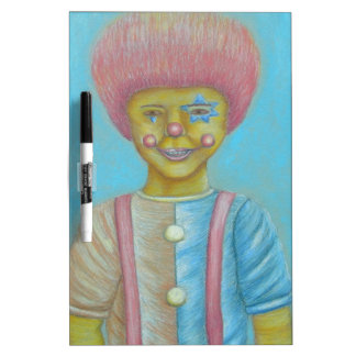 Boy Clown Dry-Erase Whiteboard