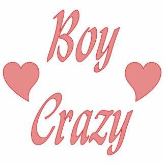 Boy Crazy Hearts Photo Cut Out
