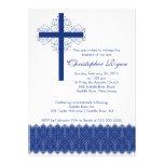 Boy Elegant Lace  Baptism | Christening Cross