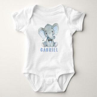 Boy Elephant Baby Shirts