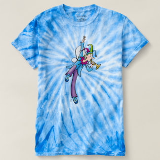 """Boy Fairy"" Trumpet Tie Die Shirt"