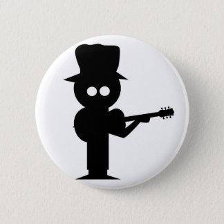 Boy Folk Singer 2 Inch Round Button
