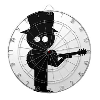 Boy Folk Singer Dartboard