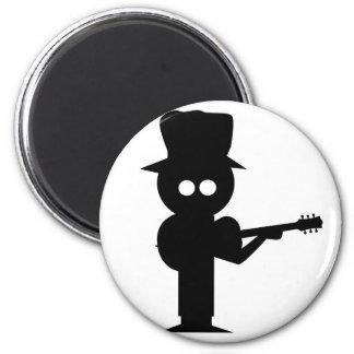 Boy Folk Singer Magnet