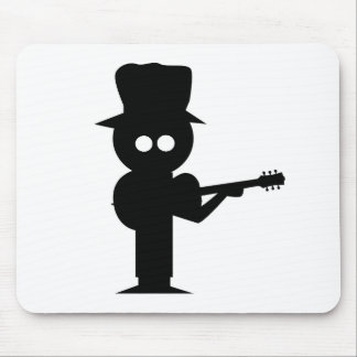 Boy Folk Singer Mouse Pad