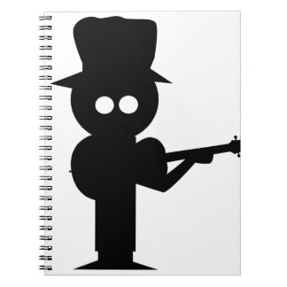 Boy Folk Singer Notebook