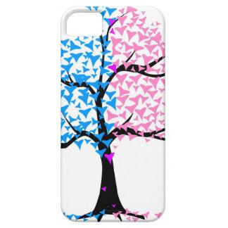 Boy Girl Hearts Tree iPhone 5 Case