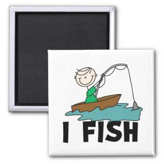 Boy I Fish Magnet