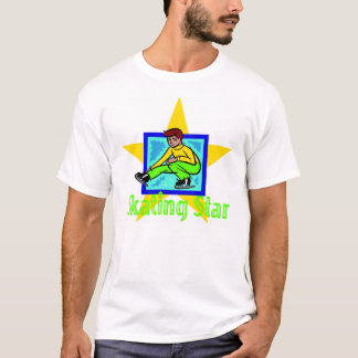 Boy Ice Figure Skating Star T-Shirt