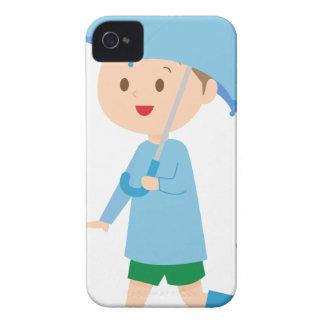 Boy in the Rain Case-Mate iPhone 4 Case