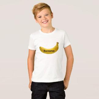 Boy Kid Banana Design T-shirt