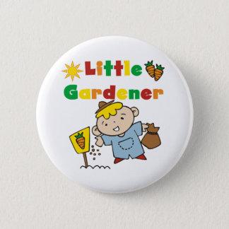 Boy Little Gardener 2 Inch Round Button