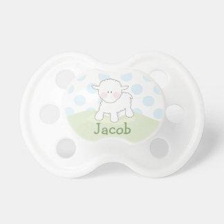 Boy Little Lamb | Personalized Pacifier
