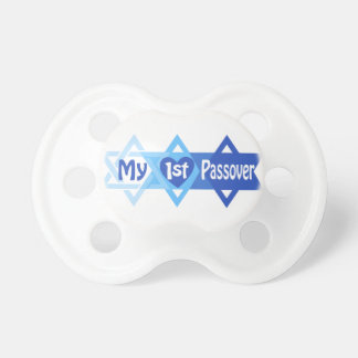 Boy My First Passover Pacifier Baby's 1st Passover