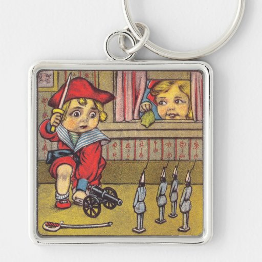 Boy Needs Help with His Feminine Side Keychain