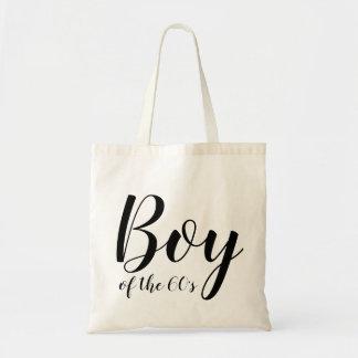 Boy of the Sixties Elegant Typography 1960s Tote Bag