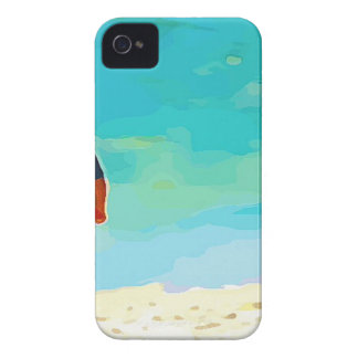 Boy on Beach iPhone 4 Case