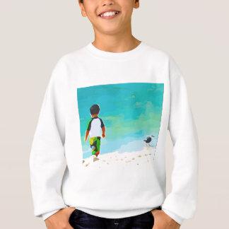 Boy on Beach Sweatshirt