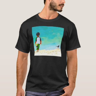 Boy on Beach T-Shirt