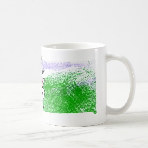 Boy on Hillside Mugs