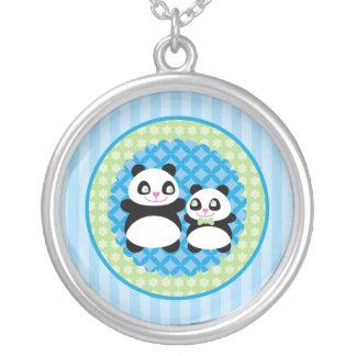 Boy Panda Bear Necklace