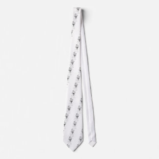 Boy Playing With Firework Illustration Tie