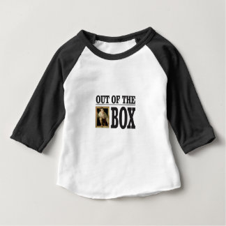 boy pops out of box baby T-Shirt