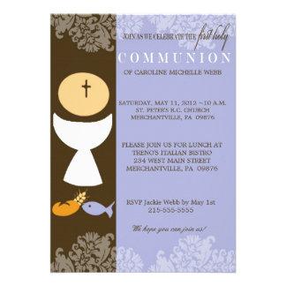 Boy s 1st Communion Invitation