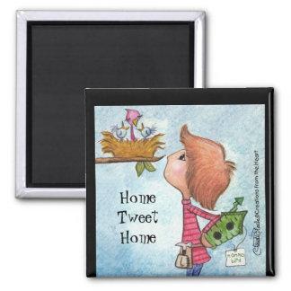 Boy's Birdhouse Gift-Home Tweet Home Refrigerator Magnets