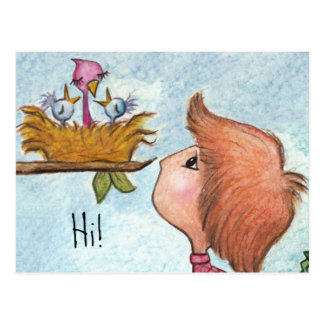 Boy's Birdhouse Gift-Home Tweet Home Postcard